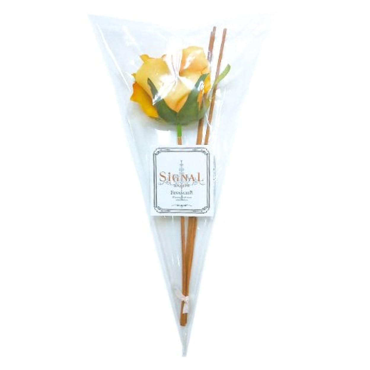 進む種をまく光沢SIGNAL シグナル フラワーディフューザー用リードスティックリフィル(花付) アンティークローズ