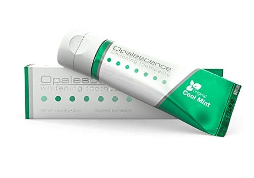 警告投資ズームオパールエッセンス Opalescence ホワイトニング 歯磨き粉 トラベルサイズ クールミント