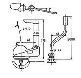 [TS406CZS]TOTO ワンピース便器用 排水弁