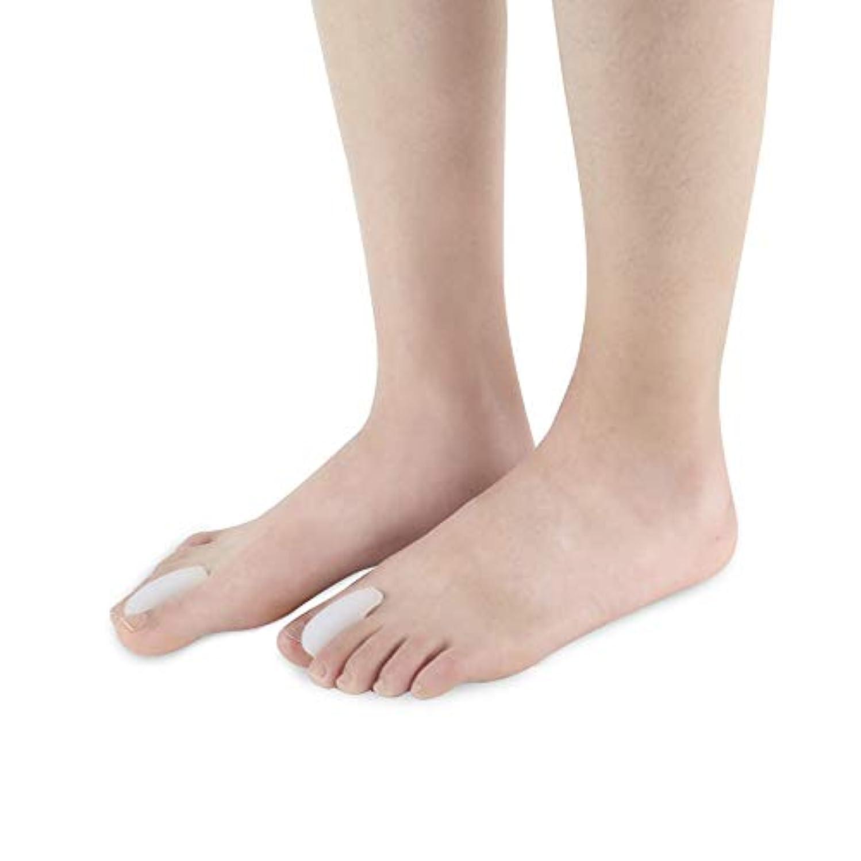 つま先セパレーター反屈曲変形腱膜白補正分割つま先防止外反母趾スリッパSEBS素材ヨガやスポーツの後の痛みを和らげる,L