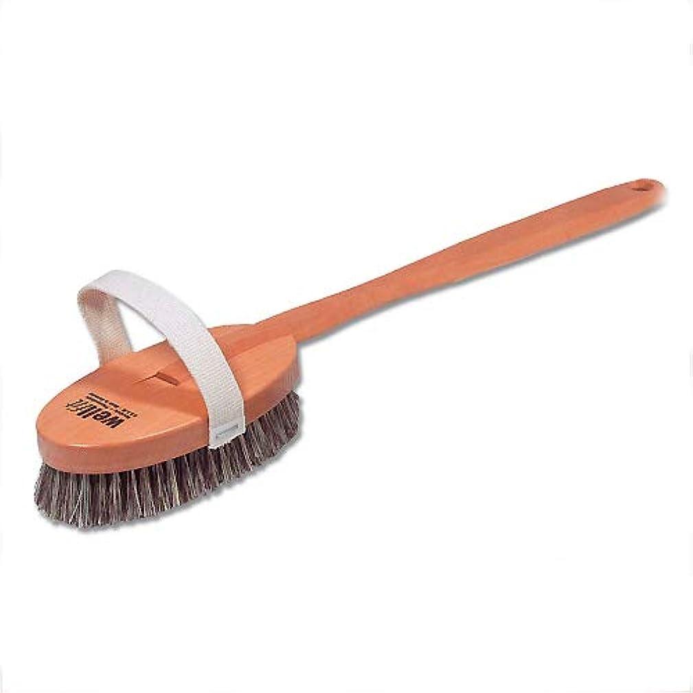 きらきら故意の分割Redecker レデッカー ボディブラシ(ミディアムハード 馬毛と植物毛の混毛植毛) 正規品