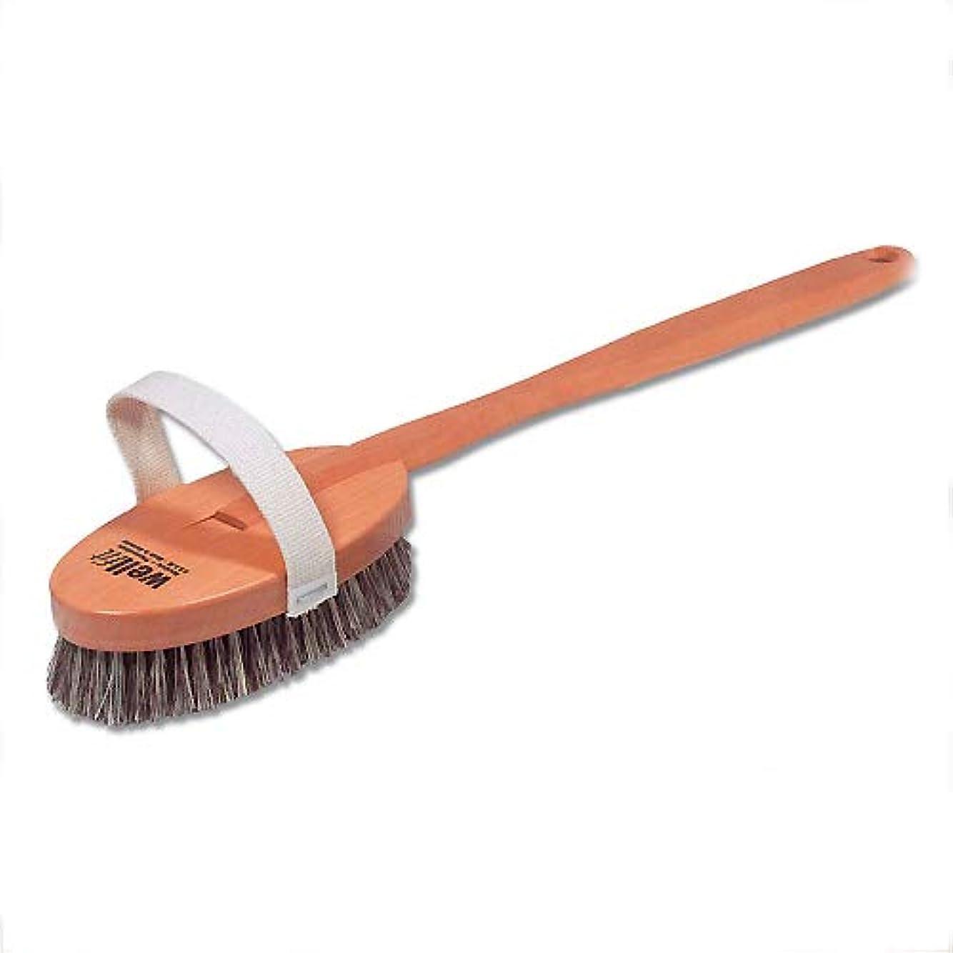 拡声器貸し手視力Redecker レデッカー ボディブラシ(ミディアムハード 馬毛と植物毛の混毛植毛) 正規品