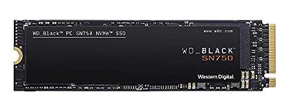 WESTERNDIGITAL【国内正規代理店品】WD 内蔵 SSD M.2 2280 / WD BLACK SN750 NVMe 1TB / ハイパフォーマンス SSD / WDS100T3X0C-EC
