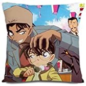 コスプレ☆^-^☆名探偵コナン★コナンの抱き枕--40X40cm両面(芯を含む)