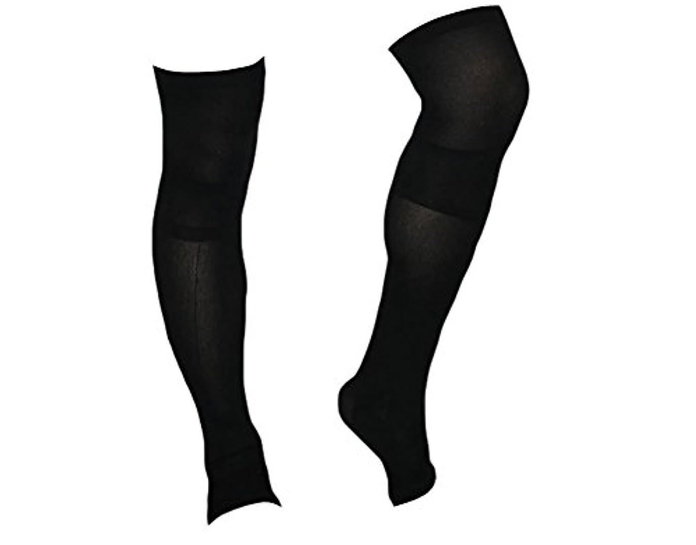 交じるリング現在着圧ソックス スパルタックス メンズ 加圧 ソックス 靴下 男性用 (ひざ上丈)