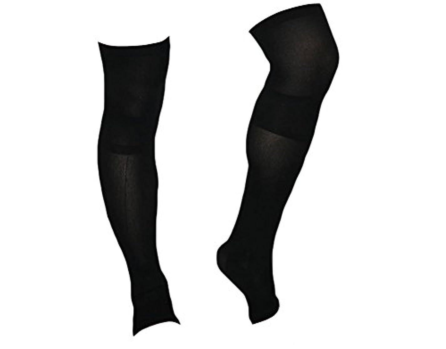 略奪線形ホイップ着圧ソックス スパルタックス メンズ 加圧 ソックス 靴下 男性用 (ひざ上丈)