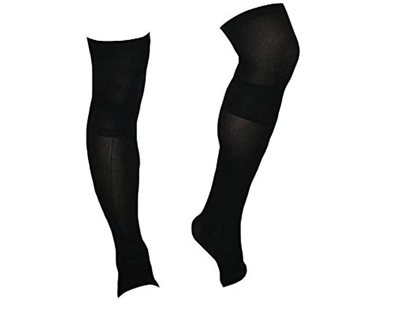 バッフル暫定のステーキ着圧ソックス スパルタックス メンズ 加圧 ソックス 靴下 男性用 (ひざ上丈)