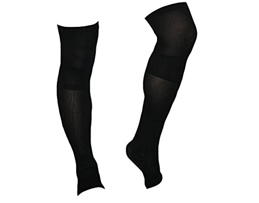 フィードモネ動的着圧ソックス スパルタックス メンズ 加圧 ソックス 靴下 男性用 (ひざ上丈)
