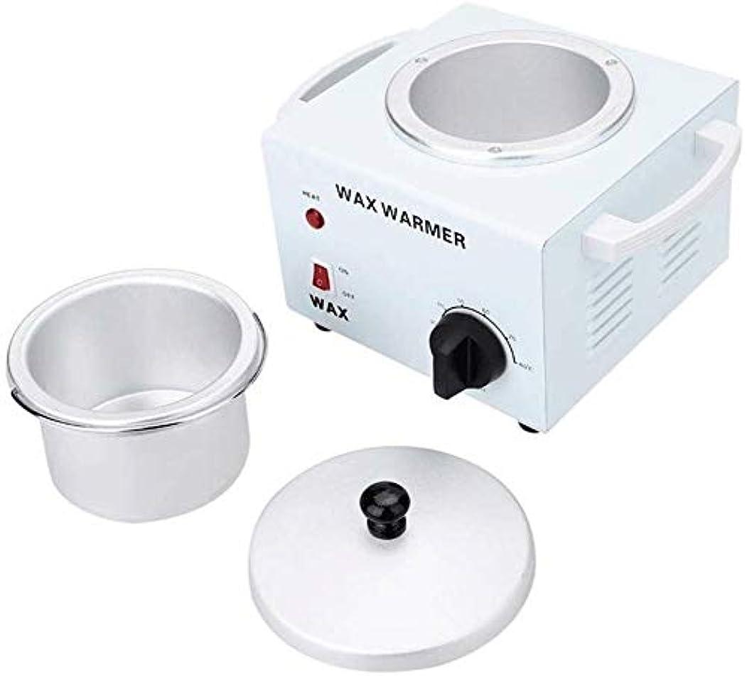 一族ニッケルバンガローワックスヒーターWaxnessシングルメタリック多機能温度制御ワックスヒーター、容量は600ccのです