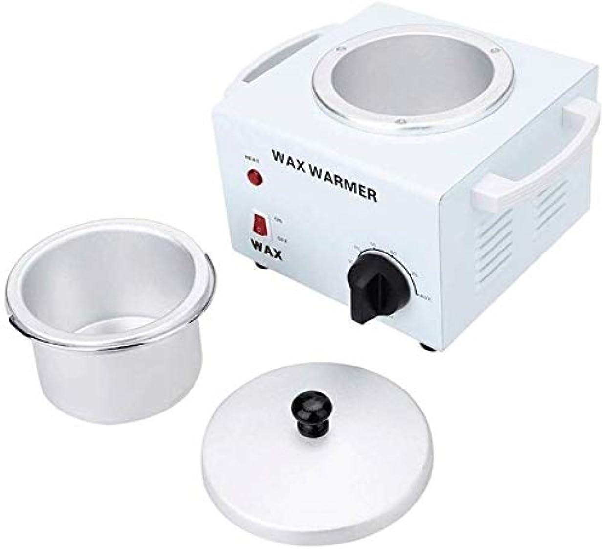 不調和聖人ビルダーワックスヒーターWaxnessシングルメタリック多機能温度制御ワックスヒーター、容量は600ccのです