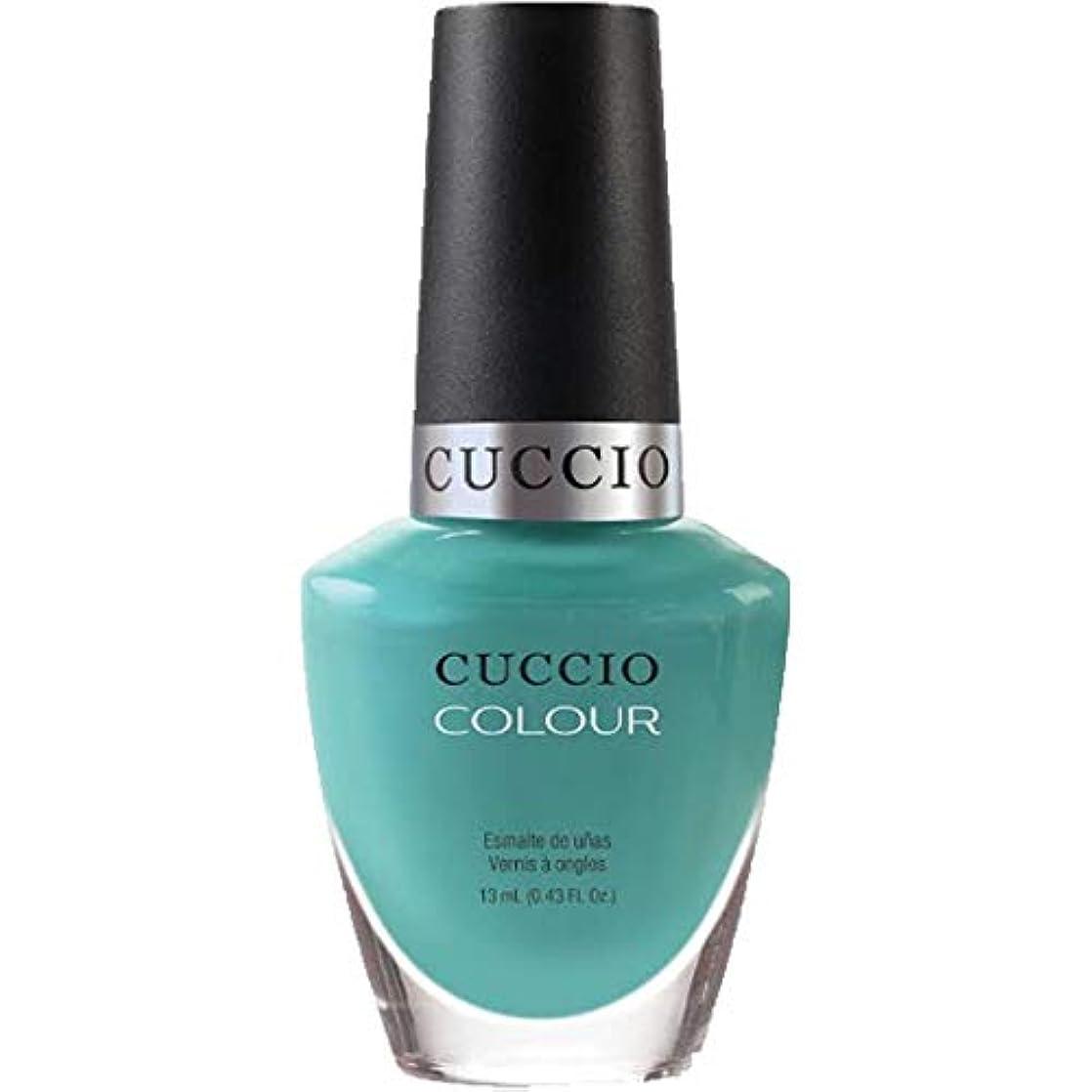 サイトライン硬化するひいきにするCuccio Colour Gloss Lacquer - Who Dunn It? - 0.43oz / 13ml