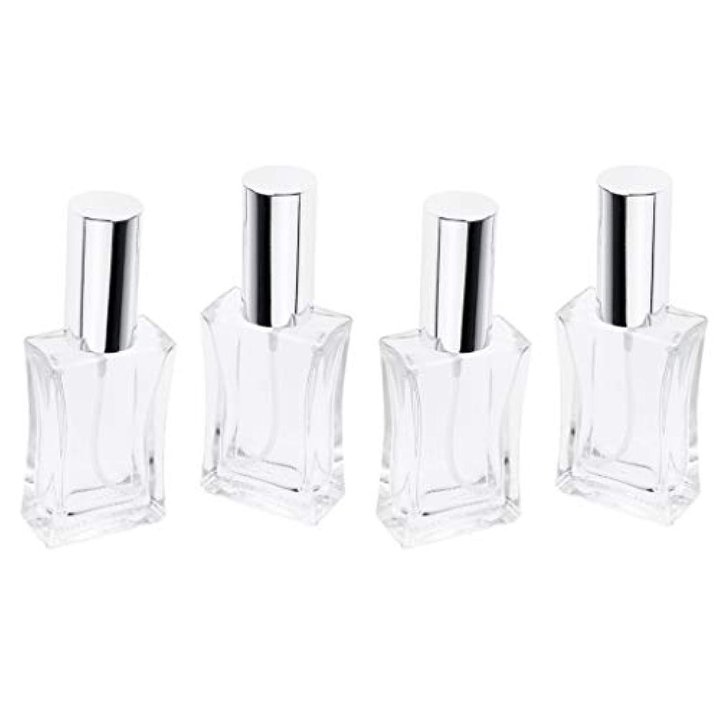 疎外する争うトークンDYNWAVE 空 香水瓶 50ml スプレーボトル ガラス瓶 アトマイザー 詰め替え 携帯便利 4本セット