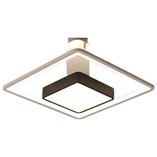 リビングルーム調光LEDシーリングライト寝室天井ランプレストランカフェシャンデリアランプ備品,Warmwhite,42W