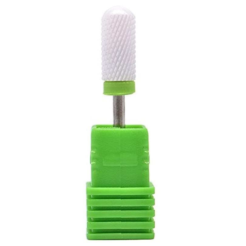教えて寓話葉を集めるOral Dentistry ネイルアート ドリルビット 丸い 研磨ヘッド ネイル グラインド ヘッド 爪 磨き 研磨 研削 セラミック 全3色 (グリーンC(粗研削))
