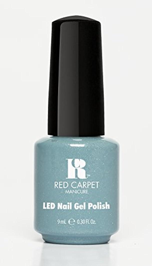 抜粋混雑カートRed Carpet Manicure - LED Nail Gel Polish - Power of the Gemstones - Aquamarine - 0.3oz/9ml