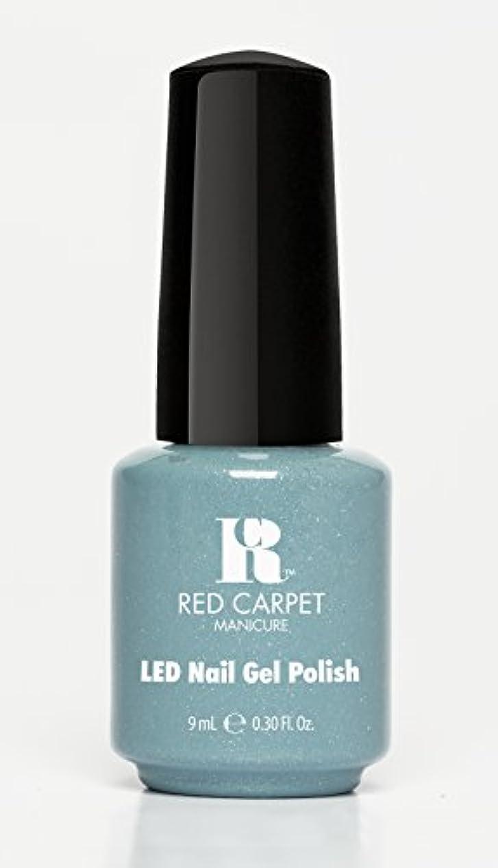 がっかりする可能にする平和Red Carpet Manicure - LED Nail Gel Polish - Power of the Gemstones - Aquamarine - 0.3oz/9ml