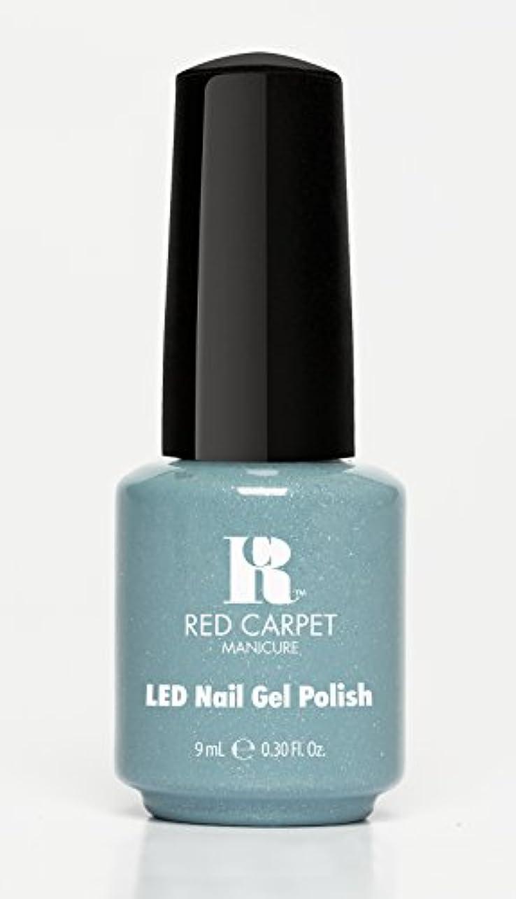 長老スポーツマン掘るRed Carpet Manicure - LED Nail Gel Polish - Power of the Gemstones - Aquamarine - 0.3oz/9ml