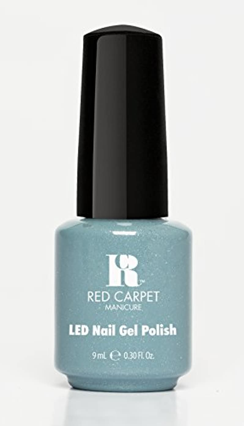 空いている一生恩恵Red Carpet Manicure - LED Nail Gel Polish - Power of the Gemstones - Aquamarine - 0.3oz/9ml