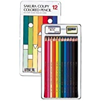 (株)サクラクレパス クーピー色鉛筆 12色