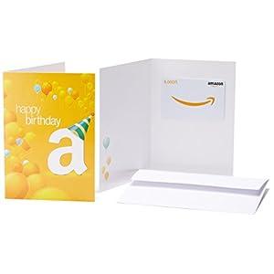 Amazonギフト券(グリーティングカードタイプ ) - 5,000円 (誕生日)