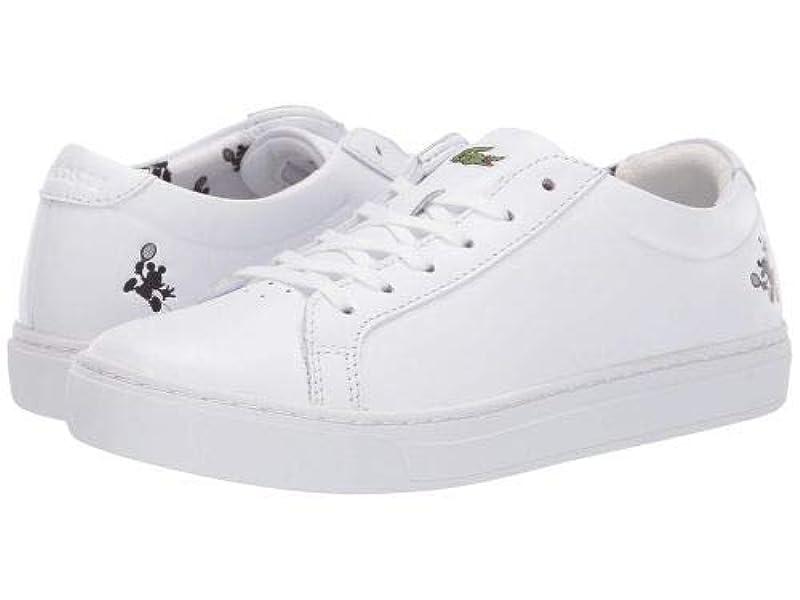 確認してください戻すちょっと待ってLacoste(ラコステ) レディース 女性用 シューズ 靴 スニーカー 運動靴 L.12.12 418 1 Disney - White [並行輸入品]