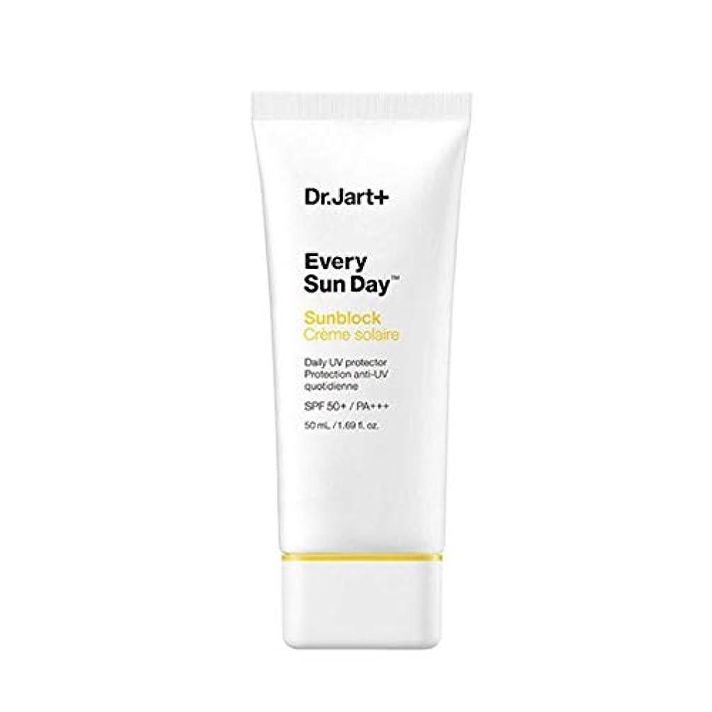 曲線十分機械ドクタージャルトゥエブリサンデーサンブロック50mlサンクリーム韓国コスメ、Dr.Jart Every Sun Day Sun Block 50ml Sun Cream Korean Cosmetics [並行輸入品]
