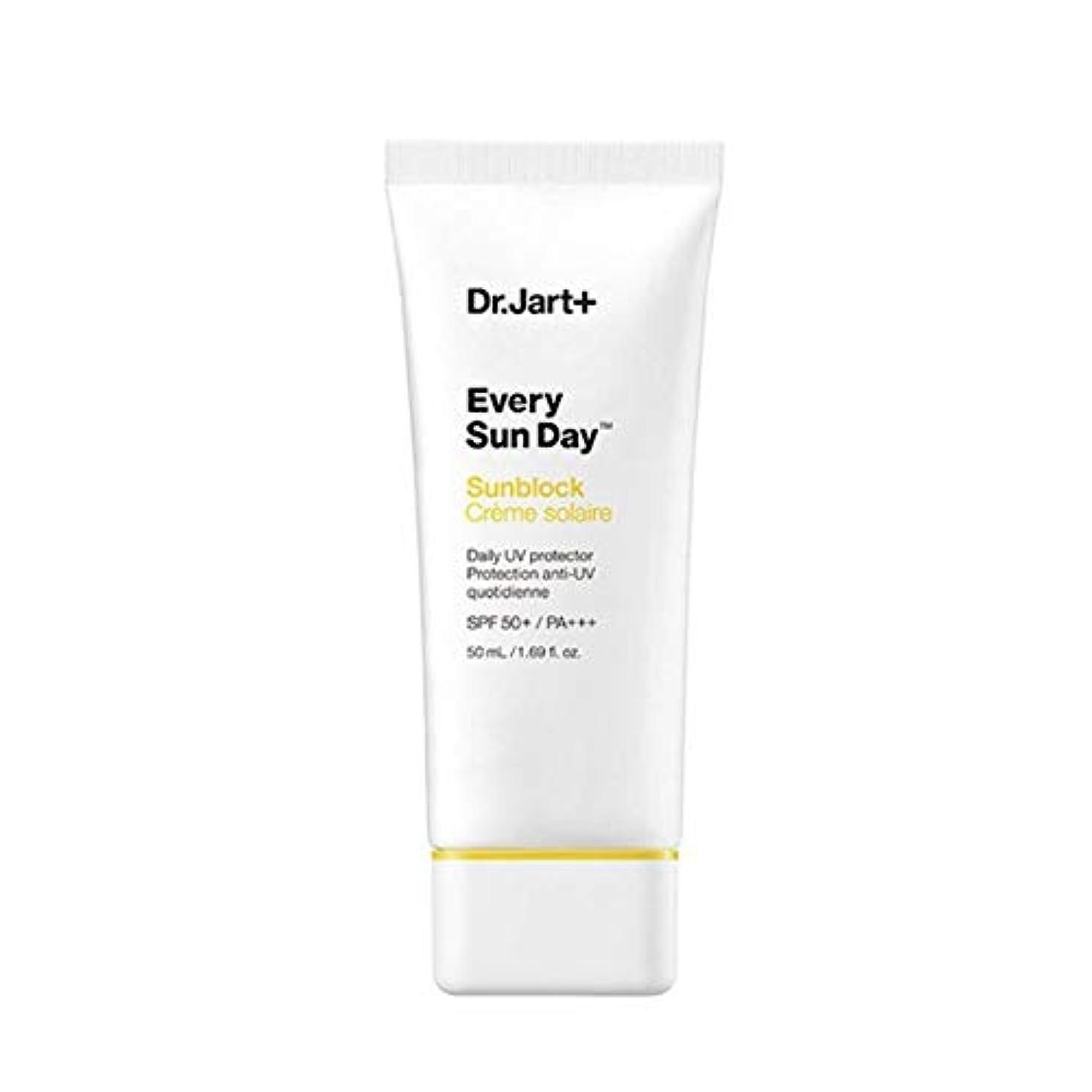 寝具ポンプ嘆くドクタージャルトゥエブリサンデーサンブロック50mlサンクリーム韓国コスメ、Dr.Jart Every Sun Day Sun Block 50ml Sun Cream Korean Cosmetics [並行輸入品]