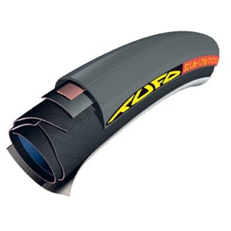 TUFO S3 Lite <200g 26×21mm オールブラック チューブラー