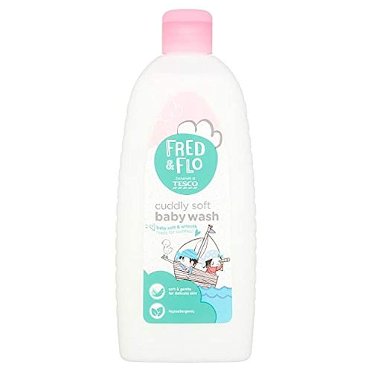 砲撃消防士窒息させる[Fred & Flo] フレッドとFloのかわいいソフトボディ洗剤500ミリリットル - Fred And Flo Cuddly Soft Bodywash 500Ml [並行輸入品]