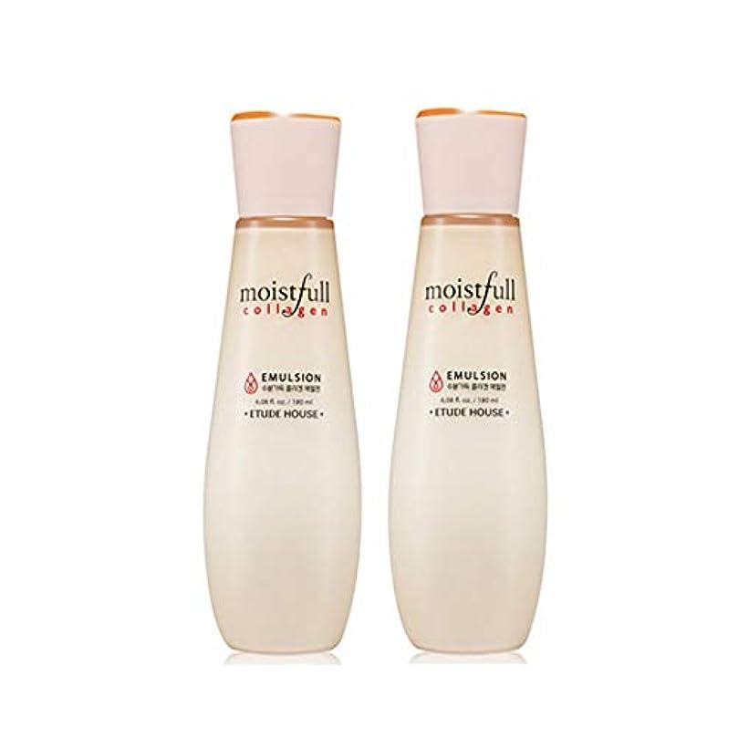 エチュードハウス水分いっぱいコラーゲンエマルジョン180mlx2本セット韓国コスメ、Etude House Moistfull Collagen Emulsion 180ml x 2ea Set Korean Cosmetics...