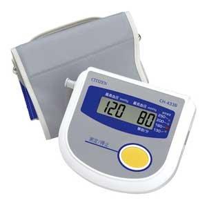 シチズン 電子血圧計 CH-433B