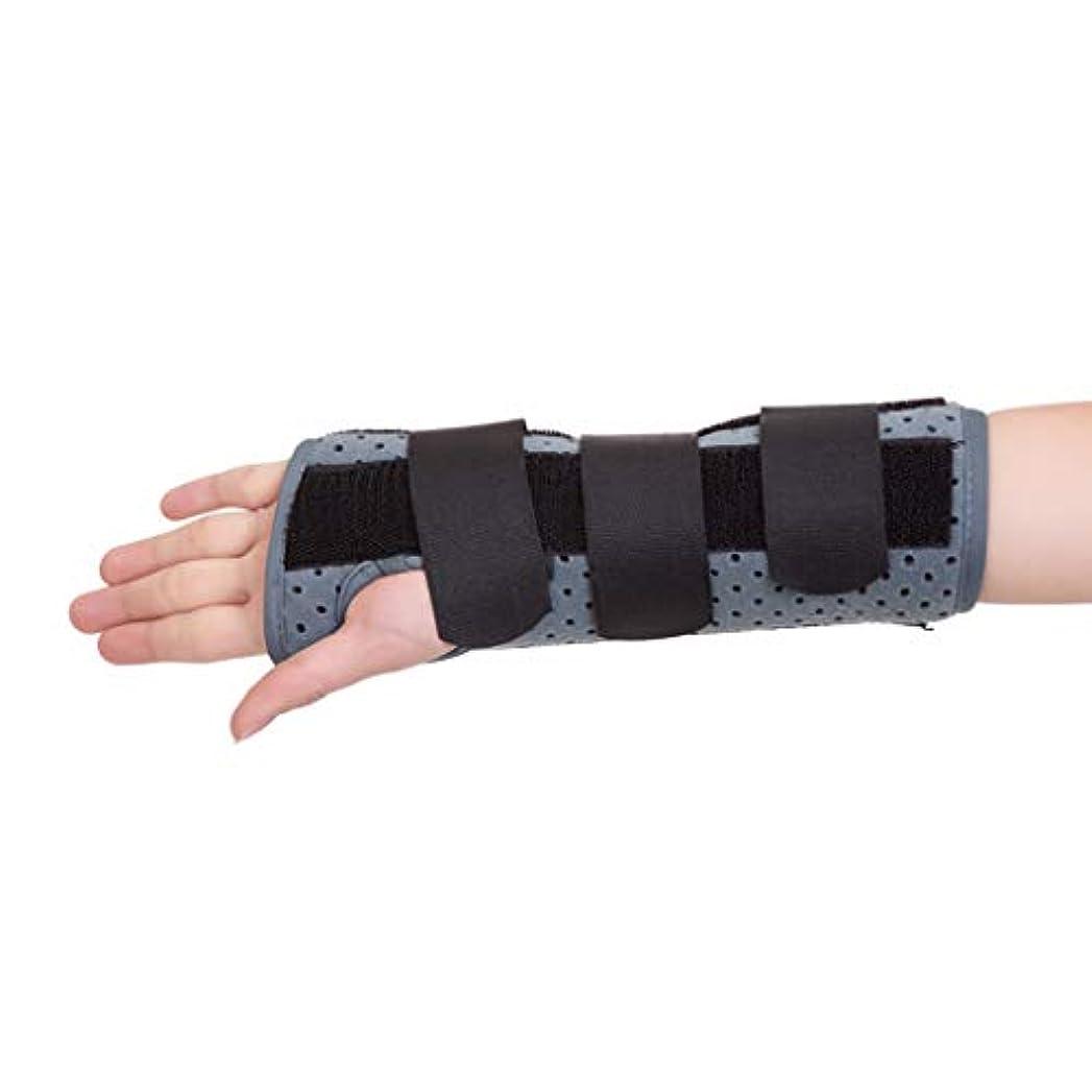 アッティカスすごい静けさ手首ブレース手根管、腱炎のための取り外し可能な副木、CTS、手首の捻挫、骨折の痛みを軽減するための通気性の調節可能なサポートストラップ