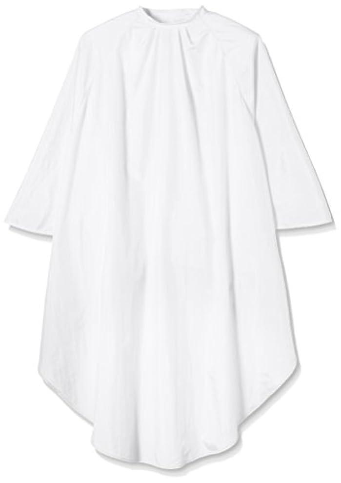 到着する社員簿記係TBG 袖付きカットクロスATD ホワイト