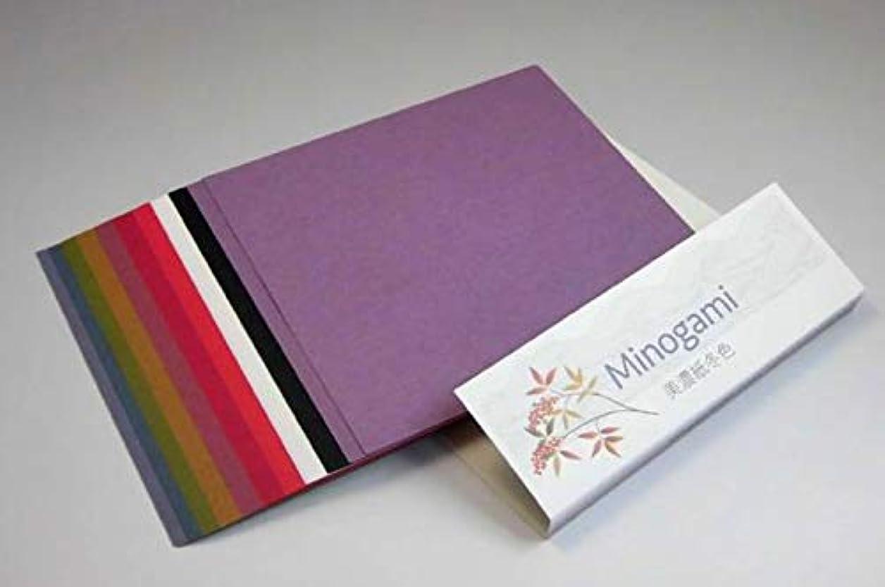 放散する秘書印をつけるMinogami 美濃紙 冬色 MP-M4