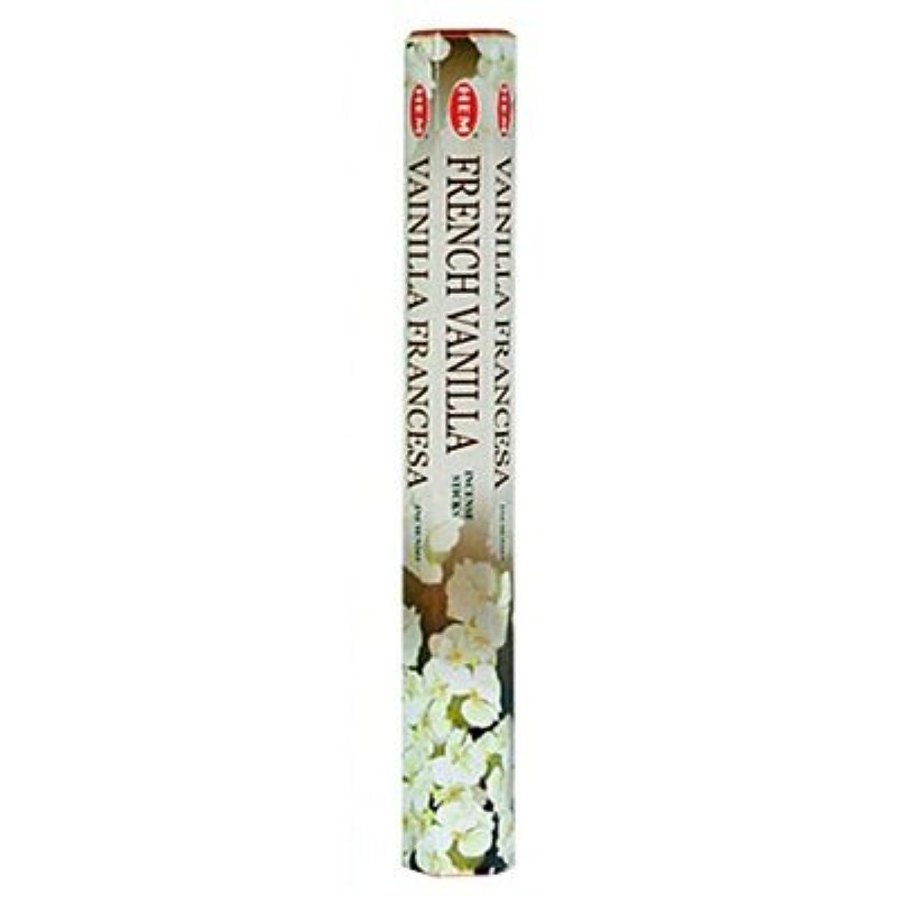 添付発症カカドゥHemフレンチバニラ香20 Sticks Hex Pack