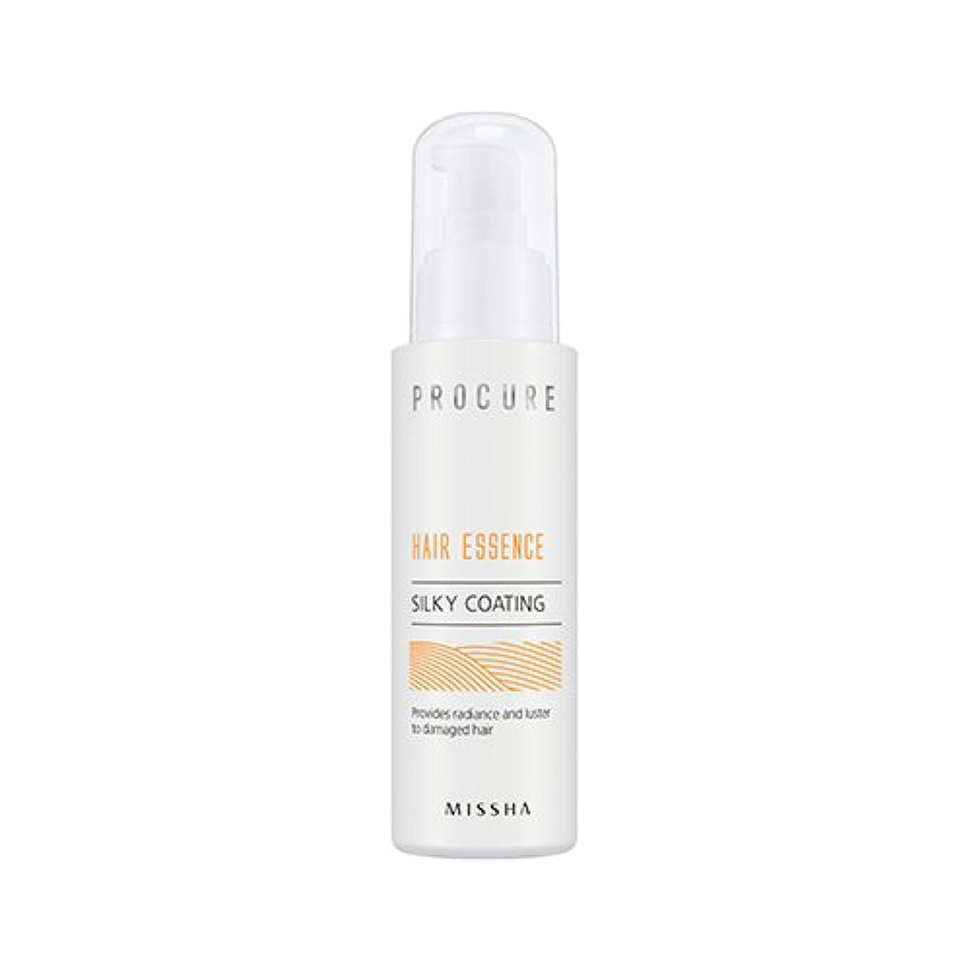 吸い込む大気前書き[NEW] MISSHA Procure Hair Essence (Silky Coating) / ミシャ プロキュアヘアエッセンス シルキーコーティング [並行輸入品]