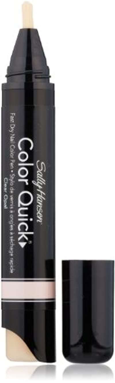 SALLY HANSEN COLOR QUICK FAST DRY NAIL COLOR PEN #01 CLEAR OPAL