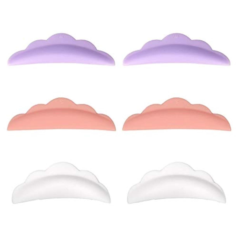 ピンク火曜日刈るToygogo パーマパッド まつげ まつげカーリングパッド まつげパッド シリコーン カーラーパッド