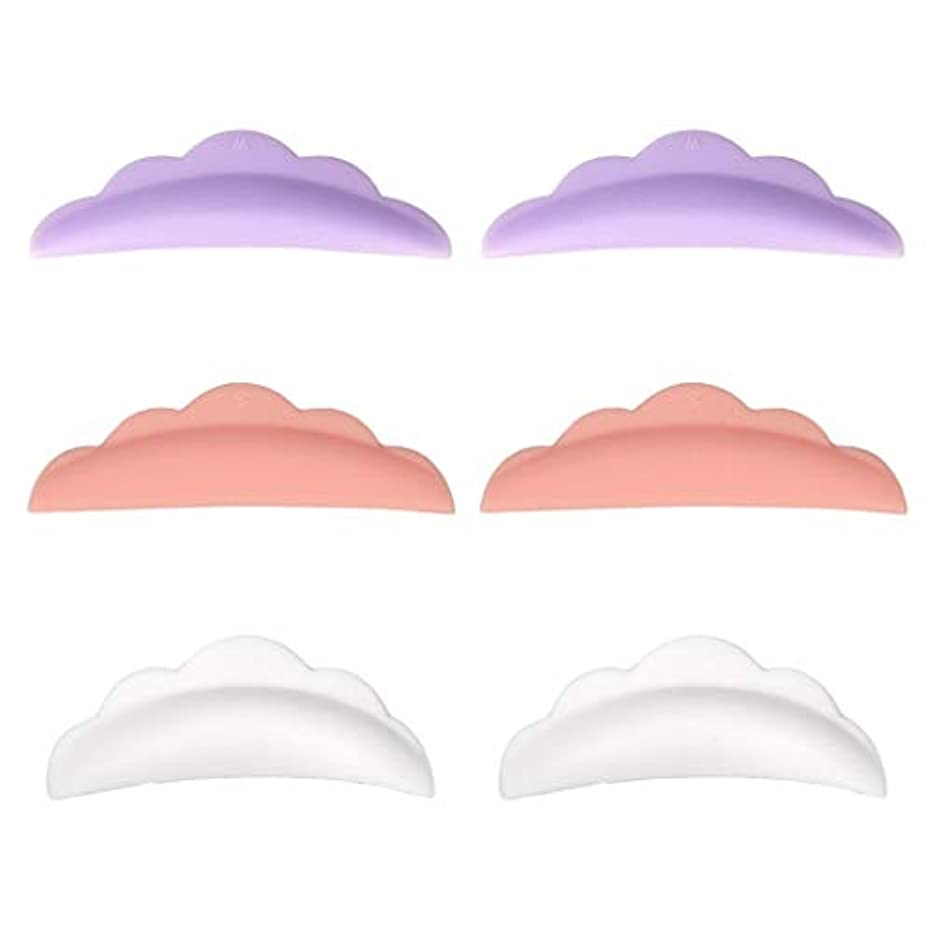 Toygogo パーマパッド まつげ まつげカーリングパッド まつげパッド シリコーン カーラーパッド