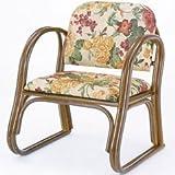 籐思いやり座椅子(ミドルタイプ) S109B