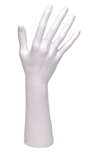 MQ-Style ハンドトルソー ハンドマネキン D3型 ホワイト
