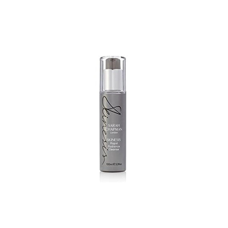 冊子橋脚アークSarah Chapman Skinesis Rapid Radiance Cleanse (100ml) - サラ・チャップマン迅速な輝きの浄化(100ミリリットル) [並行輸入品]