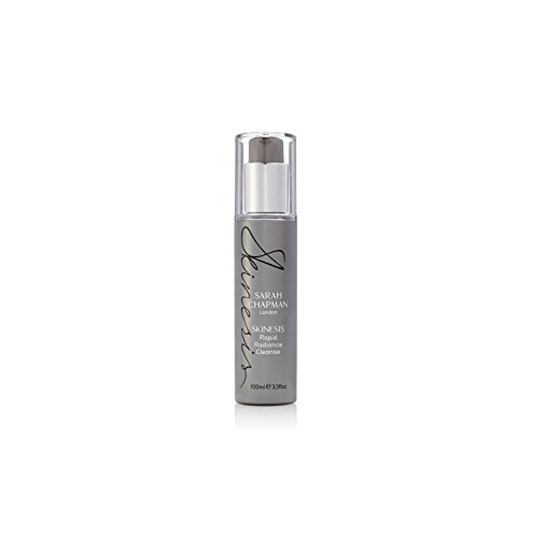 変装ダイバーダイバーSarah Chapman Skinesis Rapid Radiance Cleanse (100ml) (Pack of 6) - サラ?チャップマン迅速な輝きの浄化(100ミリリットル) x6 [並行輸入品]
