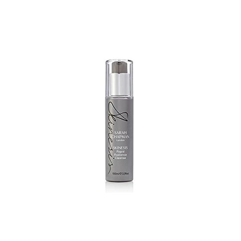 東周囲ご近所Sarah Chapman Skinesis Rapid Radiance Cleanse (100ml) (Pack of 6) - サラ?チャップマン迅速な輝きの浄化(100ミリリットル) x6 [並行輸入品]