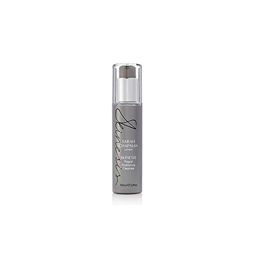 メナジェリー外交レコーダーSarah Chapman Skinesis Rapid Radiance Cleanse (100ml) (Pack of 6) - サラ?チャップマン迅速な輝きの浄化(100ミリリットル) x6 [並行輸入品]