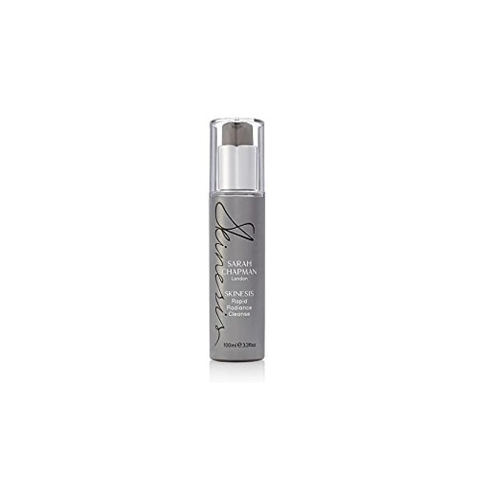 スポーツマンくそージャンピングジャックSarah Chapman Skinesis Rapid Radiance Cleanse (100ml) (Pack of 6) - サラ?チャップマン迅速な輝きの浄化(100ミリリットル) x6 [並行輸入品]