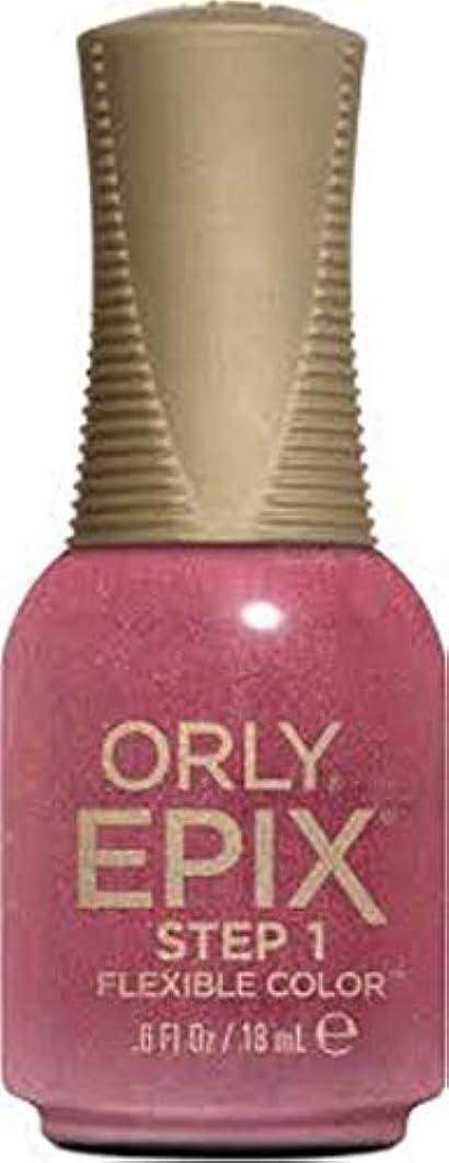 実行可能破壊感謝Orly Epix Flexible Color Lacquer - Hillside Hideout - 0.6oz / 18ml