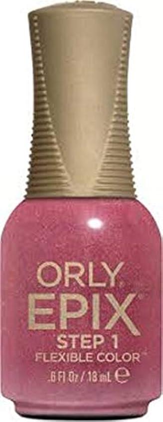 パンダアーティスト尾Orly Epix Flexible Color Lacquer - Hillside Hideout - 0.6oz / 18ml