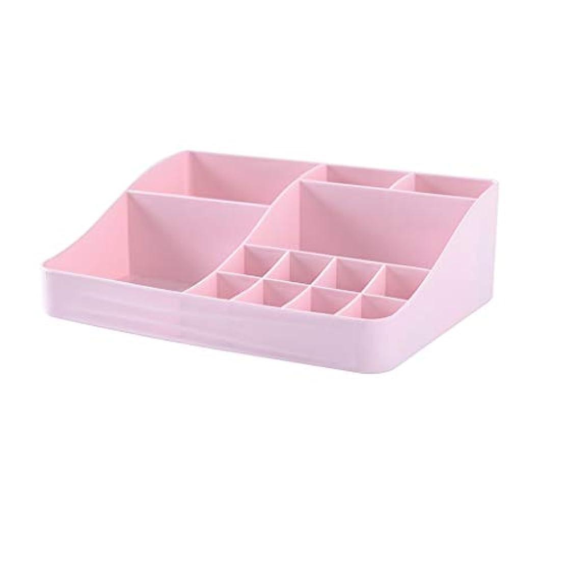 スペード八百屋さんリダクターマルチカラー化粧品収納ボックスデスクトッププラスチックジュエリー口紅ネイルオイルデブリ収納ボックスラック (Color : A)