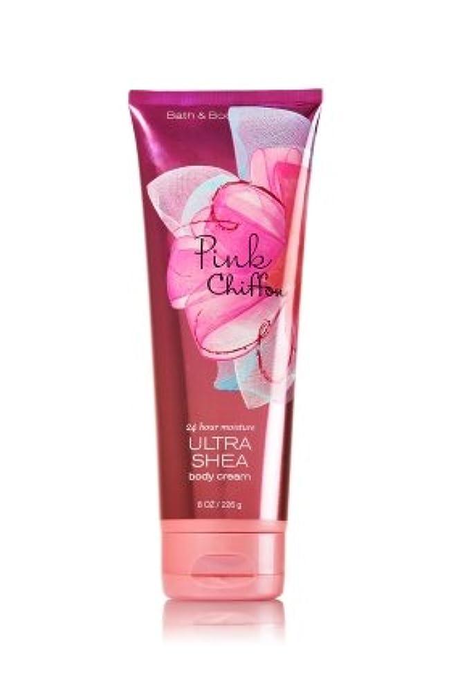 ブレイズ眩惑する広告主Bath&Body Works(バス& ボディワークス) ピンクシフォン Pink Chiffon ボディクリーム  [並行輸入品]